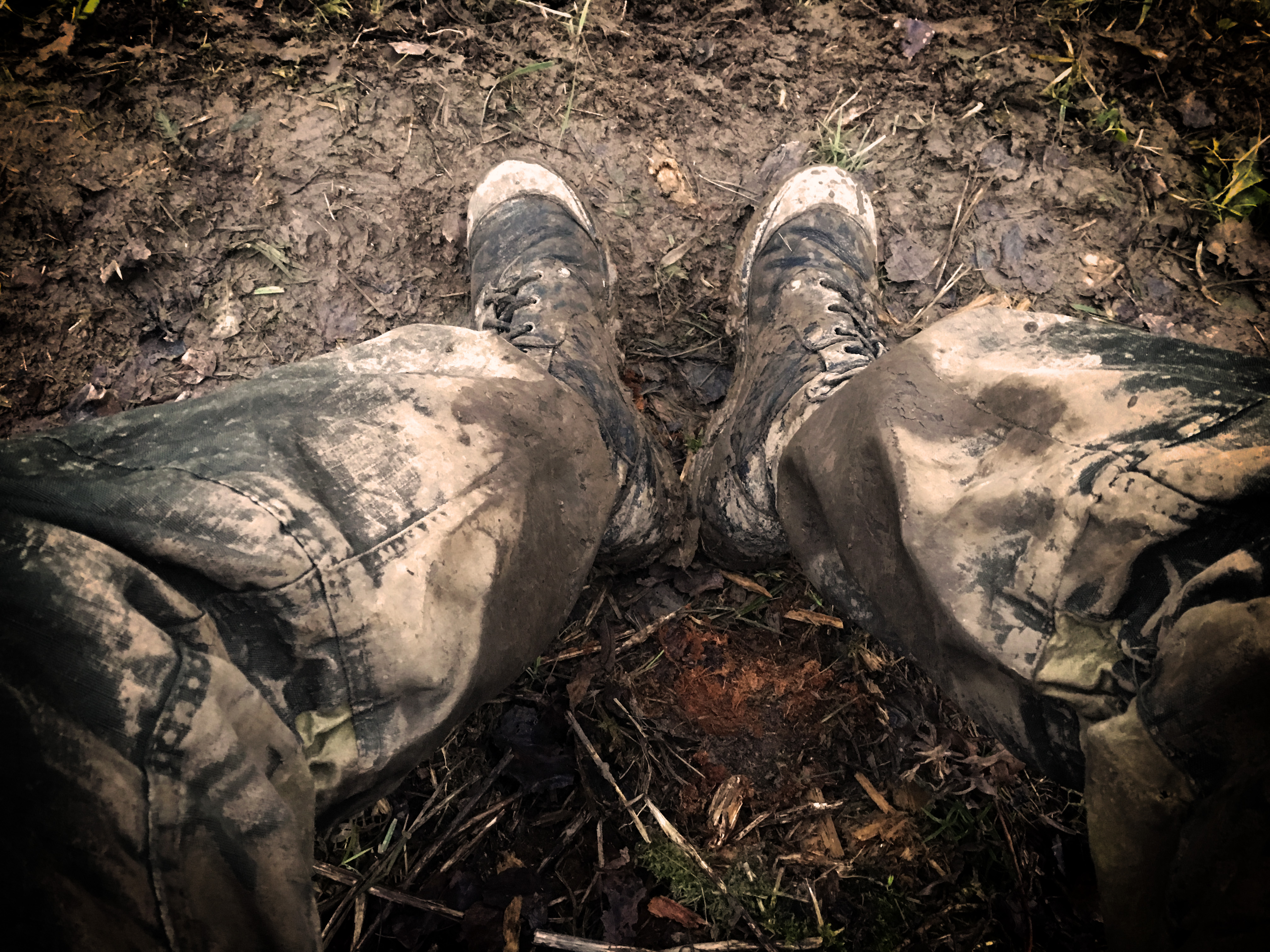 Ножки в грязи правы...конкретно