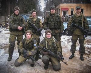 "11 января 2014 - игра ""Клаустрофобия"""