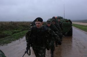 21 сентября 2013 - Общекомандная тренировка с техникой на полигоне 2-й Таманской гвардейской мотострелковой дивизии.