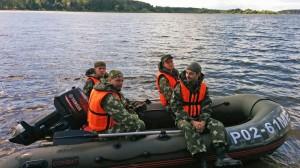 9 июля 2016 - водная тренировка на Озернинском водохранилище